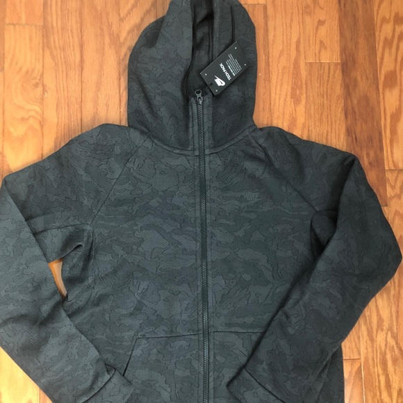 bfb021fbf179 Nike Tech Fleece Jacquard Hoodie Men s Size Large